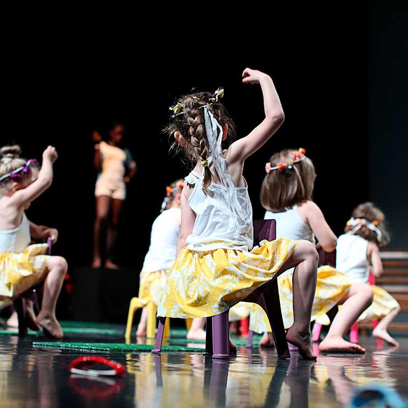 Danse contemporaine Les Parasols