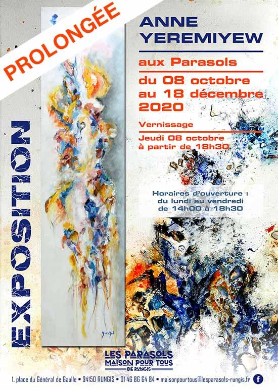 Exposition Anne Yeremiyew aux Parasols