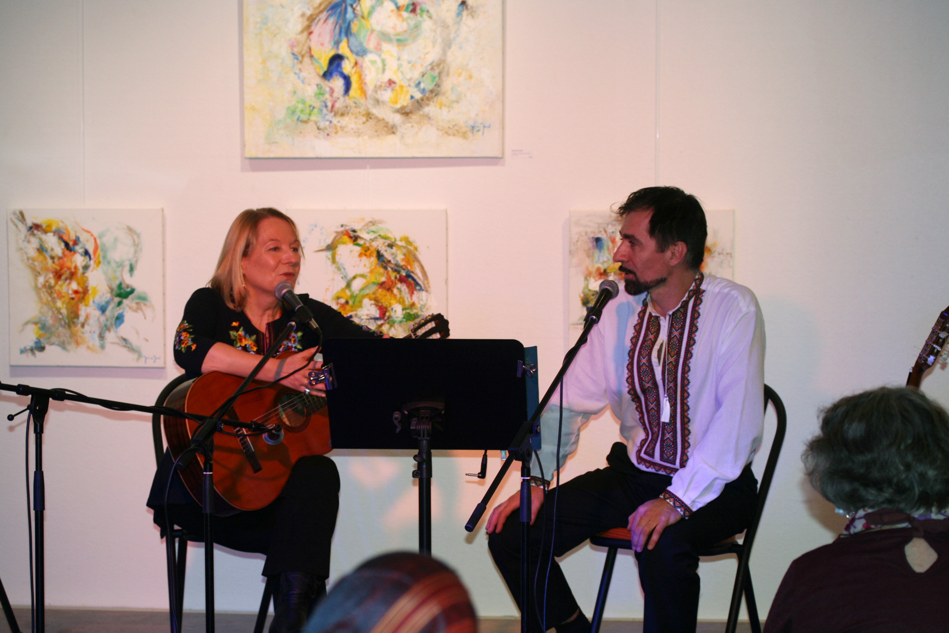 Musiciens de mélodies ukrainiennes