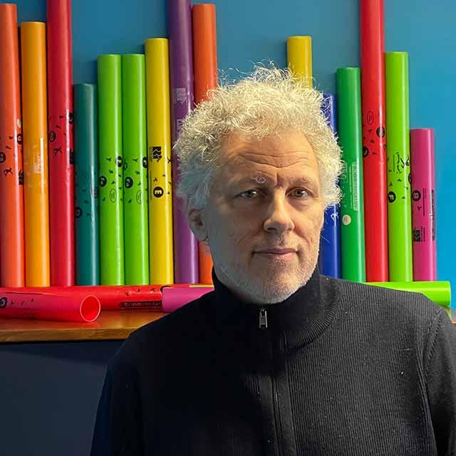 Yves Moisy responsable technique professeur de guitare et ateliers